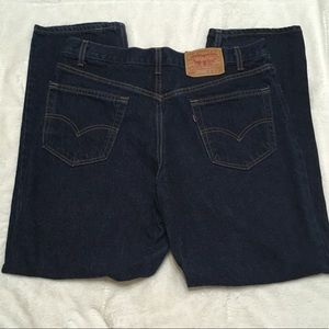 Men's Levi's 550 Relaxed Fit Blue Dark Wash 36x30.